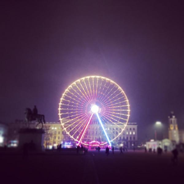 Lyon, passage éclair